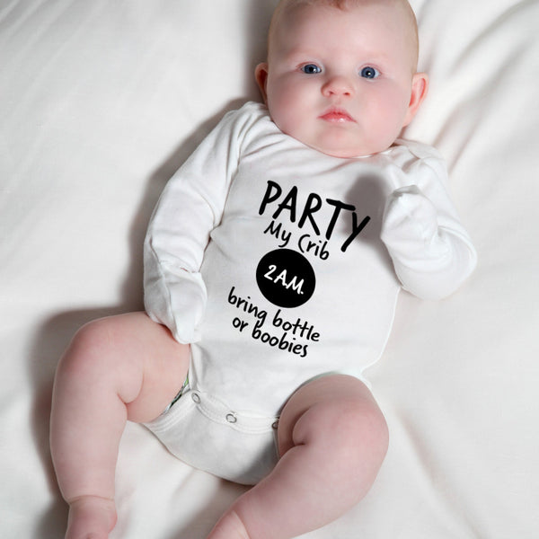 Hilariously Cute Onesie - Party My Crib