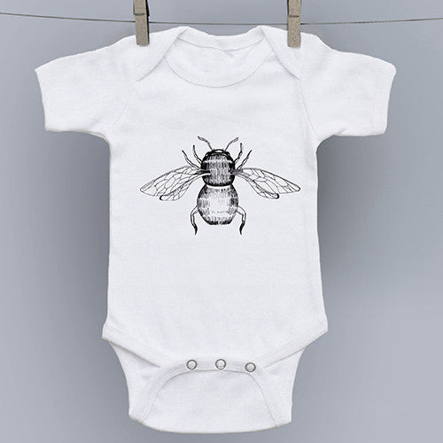 Bee Fly Original Art Onesie