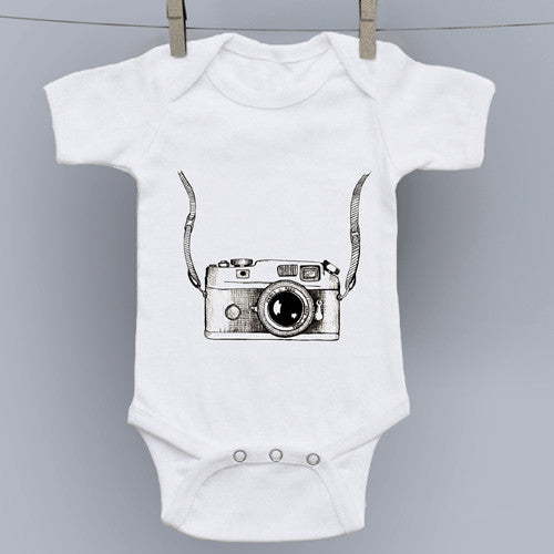 Camera Original Art Onesie