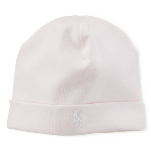 RL Delicate Pink Beanie – TinyTradingCo 43318520433