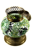 Mosaic Candle Holder 5.9