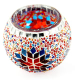 Mosaic Candle Holder 3.9