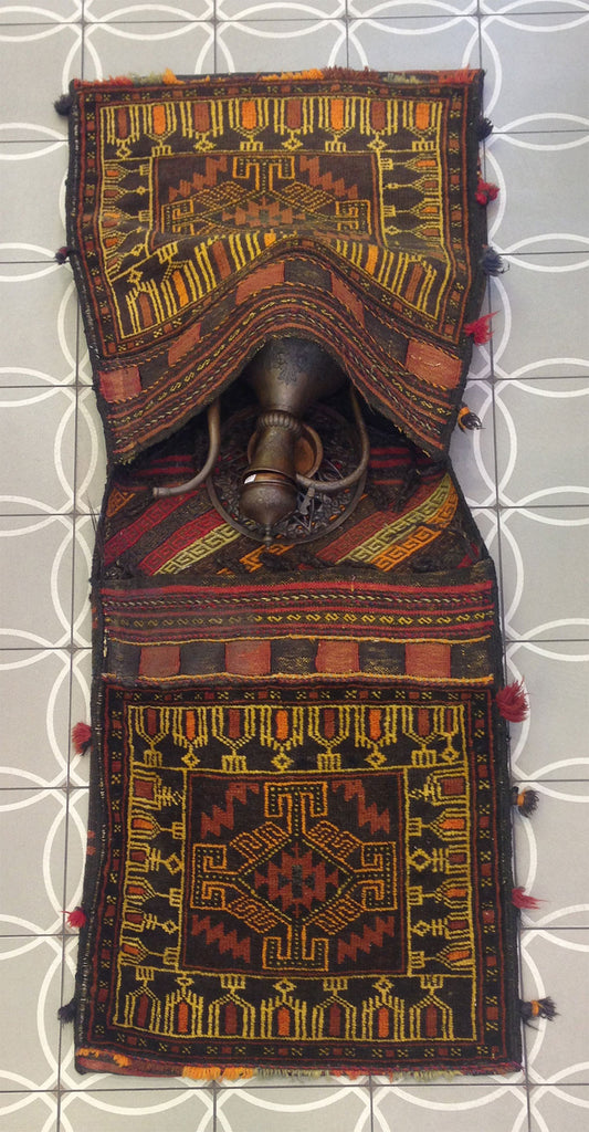 Antique Afghan Baluch Camel Bag