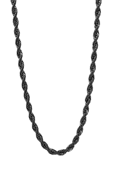 Mister Rope Necklace - Black - Mister SFC - 2