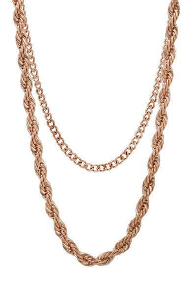 Mister Rope Necklace - Rose Gold - Mister SFC - 1
