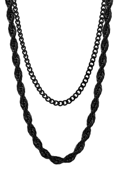 Mister Rope Necklace - Black - Mister SFC - 1