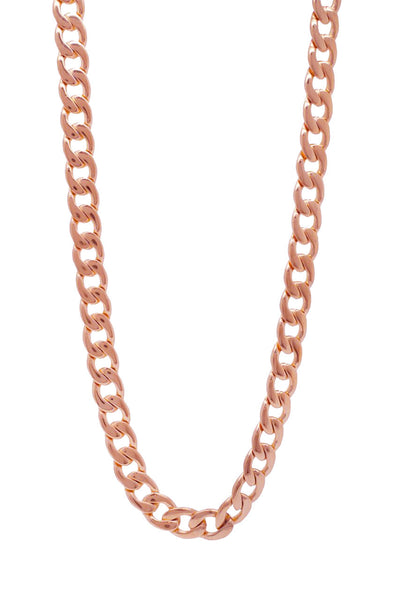 Mister Curb Chain - Rose Gold