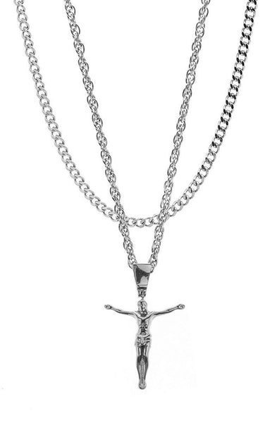 Mister  Jesus Necklace - Chrome - Mister SFC
