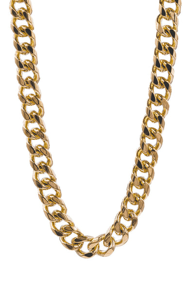 Mister Curve Curb Chain - Gold