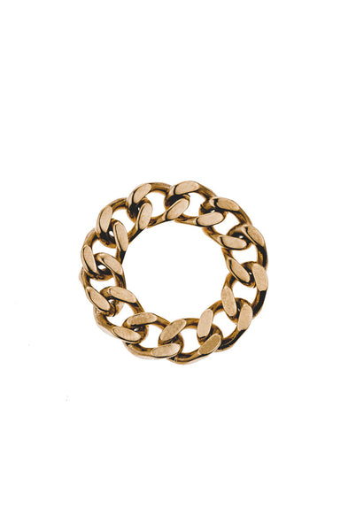 Mister Curb Ring - Gold