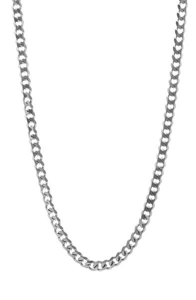 Mister Facet Curb Chain - Chrome