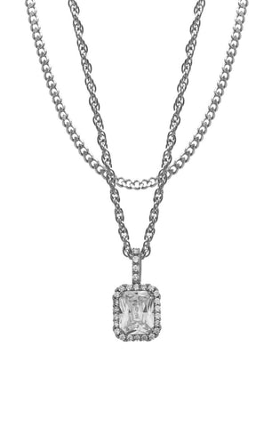 Mister  Royalist Necklace - Chrome