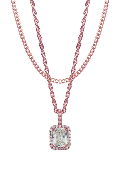 Mister  Royalist Necklace - Rose Gold