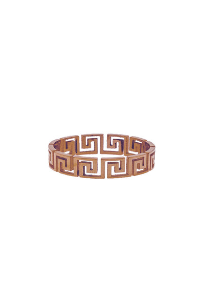 Mister Greek Cut Out Ring - Rose Gold