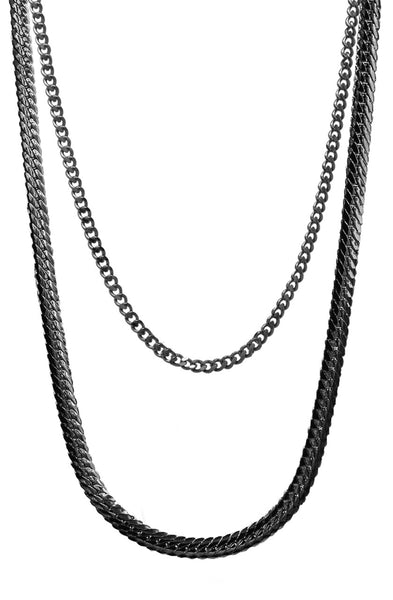 Mister Serpentine Chain - Black