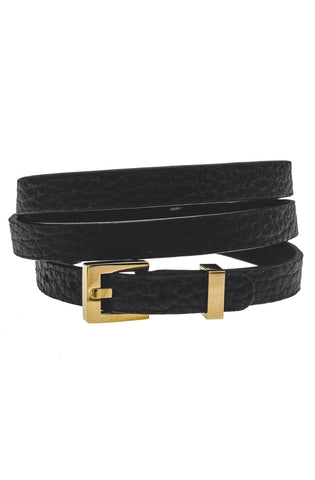 Mister Theory Leather Bracelet V3 - Black & Gold-ACCESSORIES,FOR HER-Mister SFC