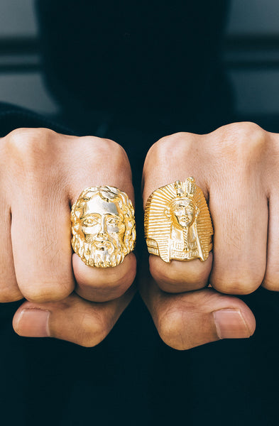 *Mister  King Tut Ring - Gold - Mister SFC - 2