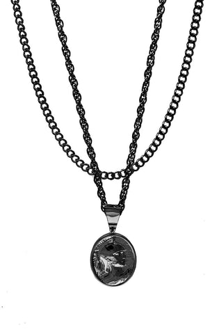 Mister  Gladiator Necklace - Black - Mister SFC