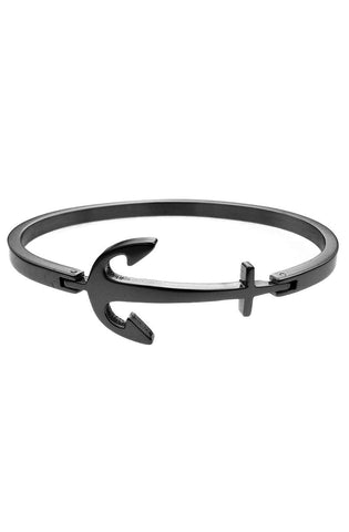 *Mister Axle Anchor Bracelet - Black - Mister SFC