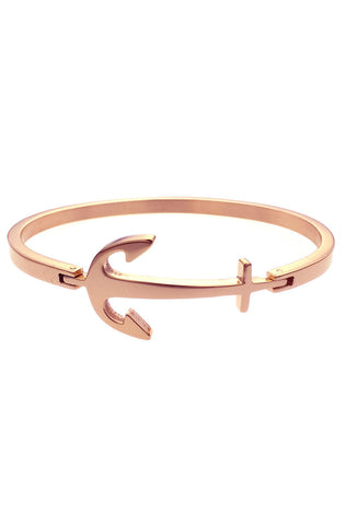 *Mister Axle Anchor Bracelet - Rose Gold - Mister SFC
