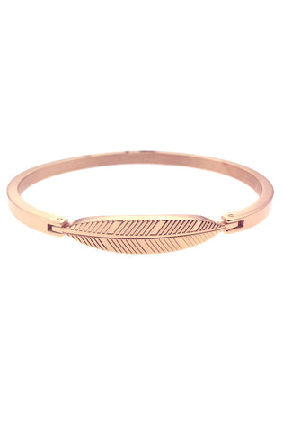 *Mister Axle Feather Bracelet - Rose Gold - Mister SFC