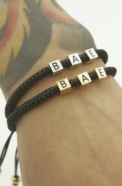 Mister Bae Bead Bracelet - Black & Rose Gold - Mister SFC - 3