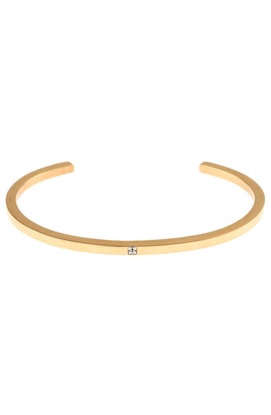 *Mister Level Gem Cuff Bracelet - Gold - Mister SFC - 1
