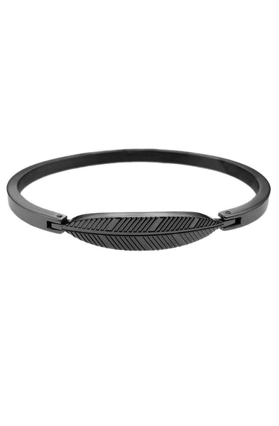 *Mister Axle Feather Bracelet - Black - Mister SFC