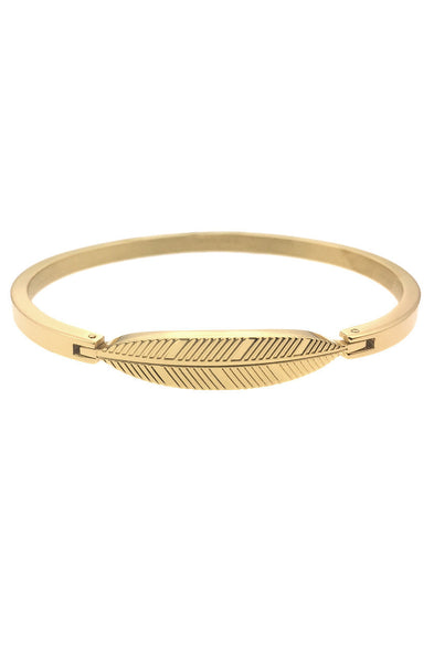 *Mister Axle Feather Bracelet - Gold - Mister SFC