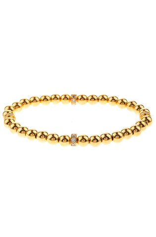 Mister Kingly Bead Bracelet - Gold - Mister SFC