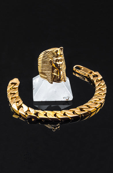 *Mister  King Tut Ring - Gold - Mister SFC - 3