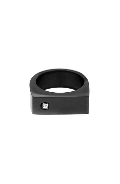 Mister Bars Ring - Black