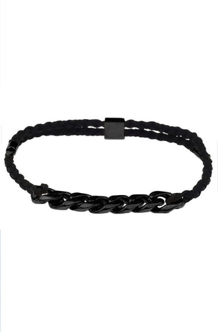 Mister Essence Plus Bracelet - Black - Mister SFC