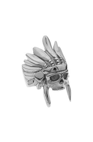 *Mister  Indian Chief Ring - Chrome - Mister SFC