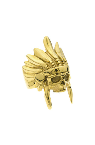 *Mister  Indian Chief Ring - Gold - Mister SFC - 1