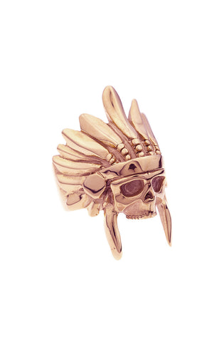 *Mister  Indian Chief Ring - Rose Gold - Mister SFC