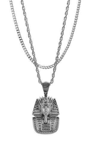 Mister  Micro King Tut Necklace - Chrome
