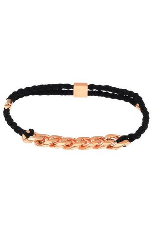 Mister Essence Plus Bracelet - Black & Rose Gold - Mister SFC