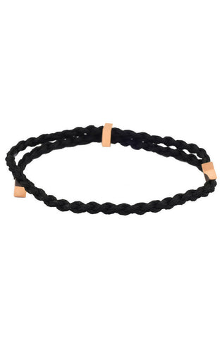 Mister Essence Bracelet - Black & Rose Gold - Mister SFC