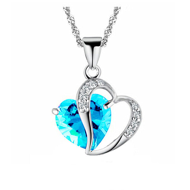 Love Heart Chain Necklace