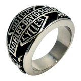 Biker Ring HD Stainless Steel #R14