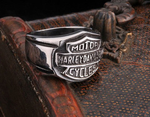 Biker Ring HD Stainless Steel