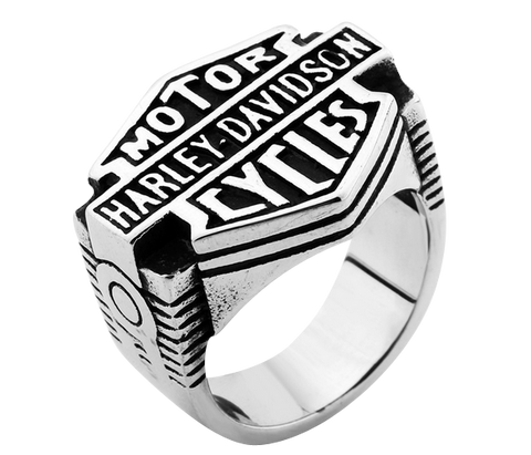 Biker Ring HD Stainless Steel #R11
