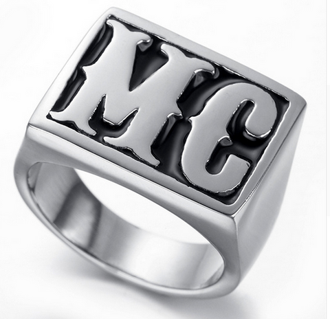 MC Biker Ring Stainless Steel