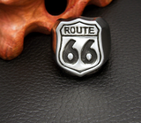 Route 66 Biker Ring Stainless Steel