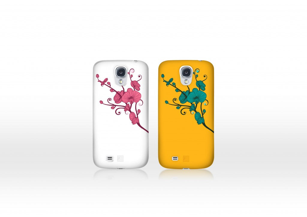 Floral Samsung GALAXY S4 Cases
