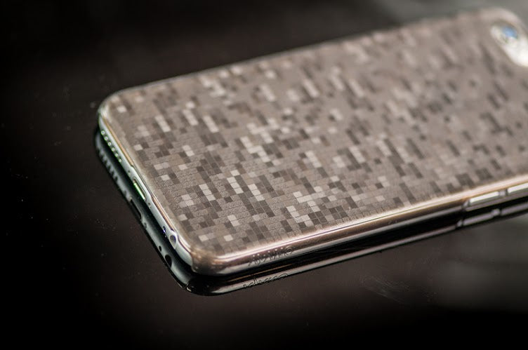 Silver iPhone 6 Plus Case