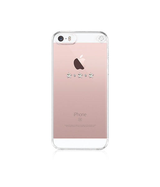 Transparent Case for iPhone SE : Les Étoiles / Crystal