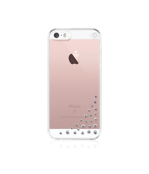 Transparent Case for iPhone SE : Diffusion / Crystal