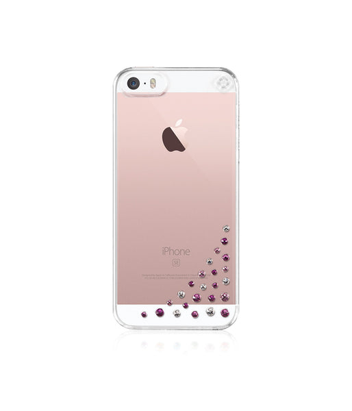 Transparent Case for iPhone SE : Diffusion / Pink Mix